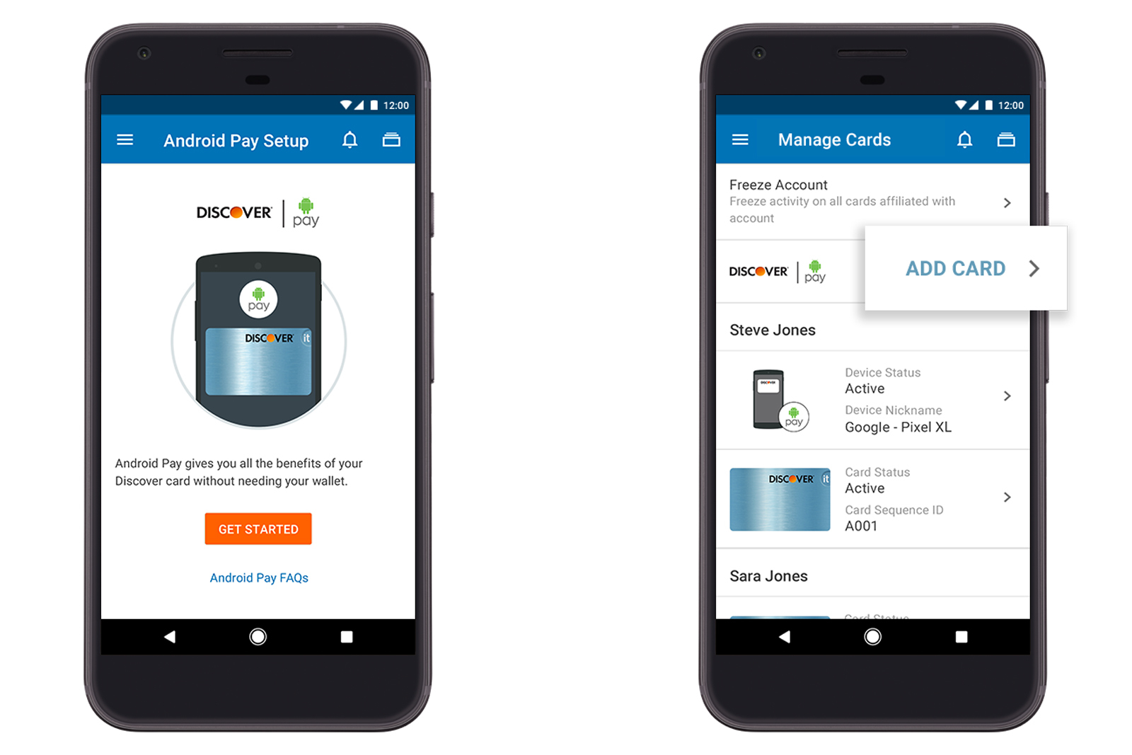 Google integra Android Pay en aplicaciones de mobile banking