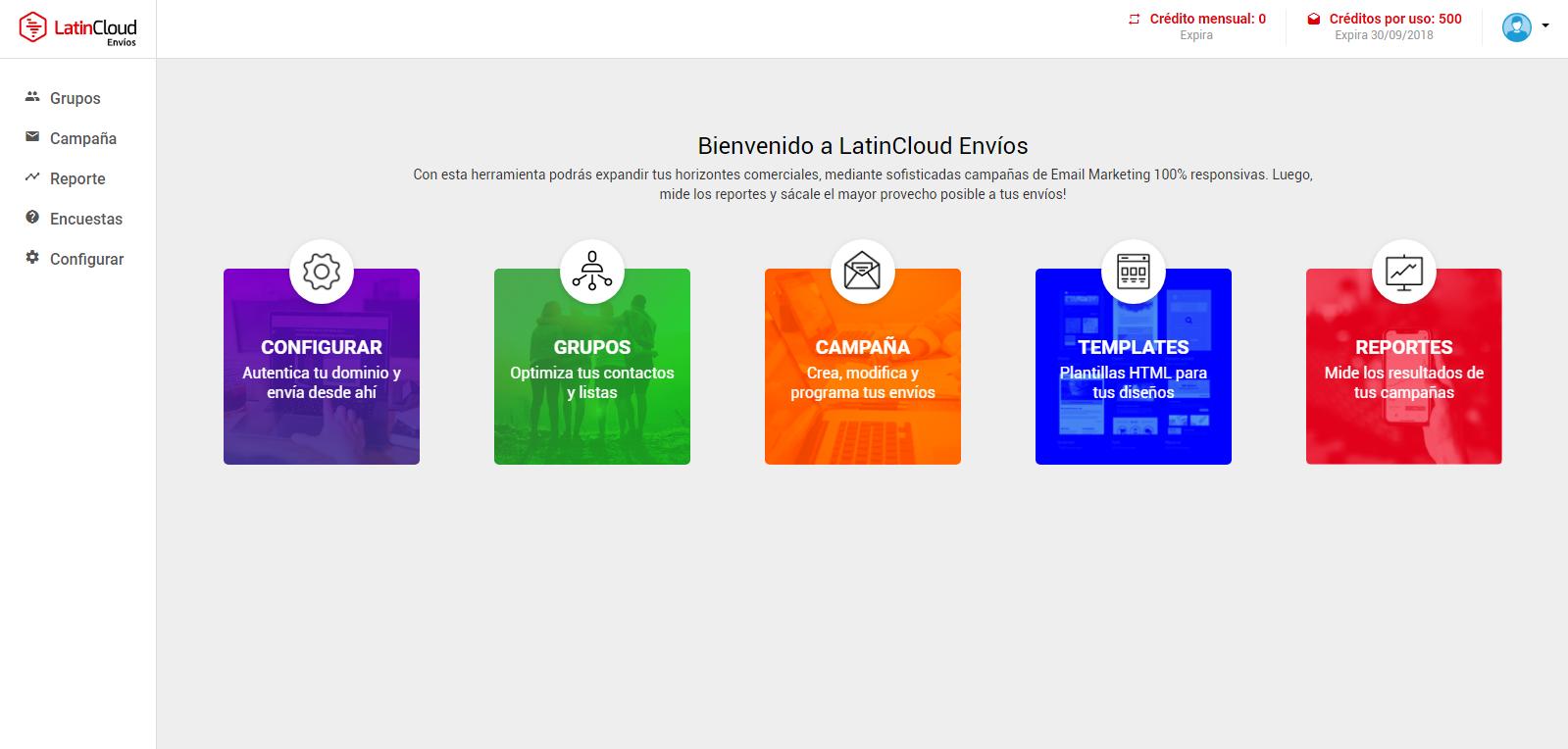Home LatinCloud Envíos